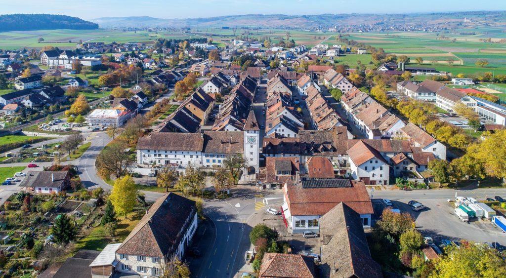 Ansicht von oben, Neunkirch